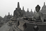Borobodur  UNESCO World Heritage Site  Kedu Plain  Java  Indonesia  Southeast Asia  Asia