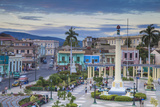 Plaza De Marta  Santiago De Cuba  Santiago De Cuba Province  Cuba  West Indies  Caribbean