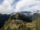 Machu Picchu  UNESCO World Heritage Site  the Sacred Valley  Peru  South America