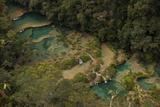 Semuc Champey Waterfalls  Guatemala  Central America