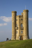 Broadway Tower in Autumn Sunshine  Cotswolds  Worcestershire  England  United Kingdom  Europe