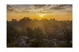 Sunset in Oakland Hills