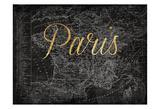 Script Paris Map Gold