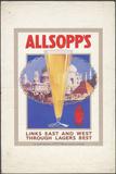 Allsopp's Lager  1920S Artist: Wilfred Fryer