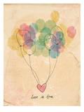 Free Love Reproduction d'art par Paula Mills