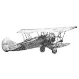 Antique Plane Sketch I
