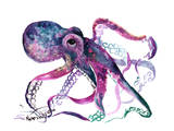 Octopus 4 Reproduction d'art par Suren Nersisyan