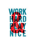 Work Hard Play Nice