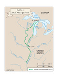 Voyage of Jolliet and Marquette