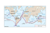 Voyages of Magellan and Cano and Drake