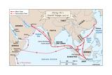 Zheng He's Fourth Voyage  1413-1415
