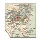 Map of Sydney