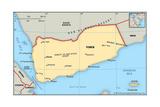 Map of Yemen
