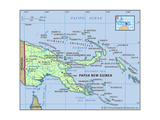 Map of Papua New Guinea