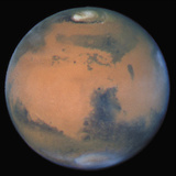Image of Mars from Hubble Space Telescope