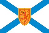 Flag of Nova Scotia  a Canadian Province Located on the Eastern Seaboard of North America
