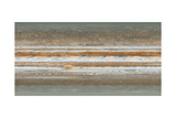 Cylindrical Projection of Jupiter's Surface