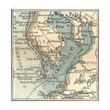 Map of Tampa  Florida