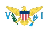 Flag of the US Virgin Islands  an Unincorporated Island Territory of the United States