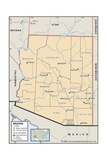 Political Map of Arizona