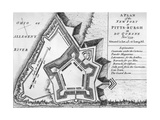 Plan of the New Fort at Pittsburgh
