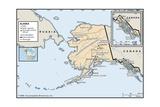 Political Map of Alaska