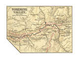 Map of Yosemite Valley