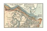 Map of Savannah