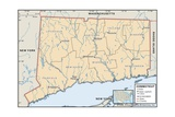Political Map of Connecticut