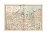 Map of Northern Ohio