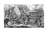 The Blockade of Louisbourg  Nova Scotia