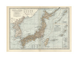 Map of Japan and Korea