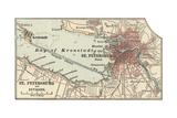 Map of St Petersburg
