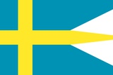 Historical Flag of the United States of America  Flown by Swedish Colonists