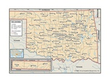 Political Map of Oklahoma