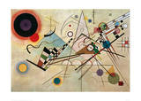 Composition VIII, 1923 Giclée par Wassily Kandinsky