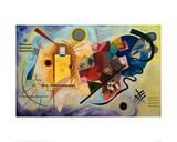 Yellow-Red-Blue, 1925 Giclée par Wassily Kandinsky