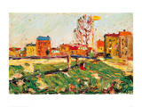 Houses in the Suburbs I  1901
