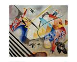White Centre, 1921 Giclée par Wassily Kandinsky