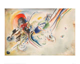 Study for Picture with Two Red Spots, 1916 Giclée par Wassily Kandinsky