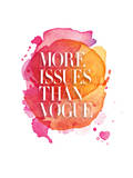 More Issues Than Vogue Watercolor