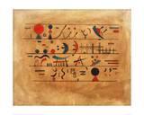 Rows of Symbols  1931