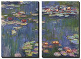 Water Lilies (Nympheas), c.1916 Tableau multi toiles par Claude Monet