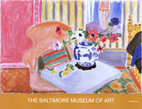 Anemones and Chinese Vase Reproduction pour collectionneurs par Henri Matisse