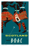 Scotland - Scottish Highland Dancers in Royal Stewart Tartan Kilts