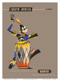 South Africa - Native African Drummer