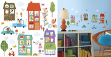 Happy Town Peel and Stick Wall Decals
