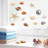 Seashells (Window Decal)