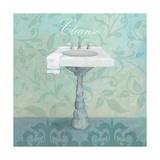 Damask Bath Sink