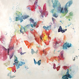 Flutterby Wisps Reproduction d'art par Farrell Douglass